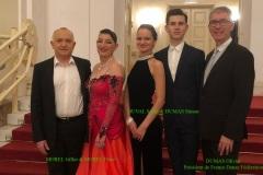 L'équipe de France Danse Fédération à Vienne en AUTRICHE